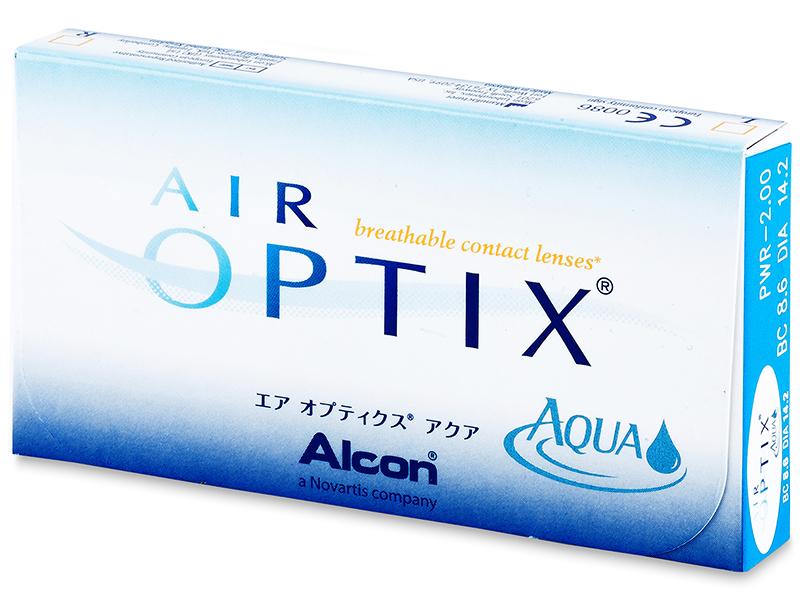 Air Optix Aqua (3komleća) - Stariji dizajn