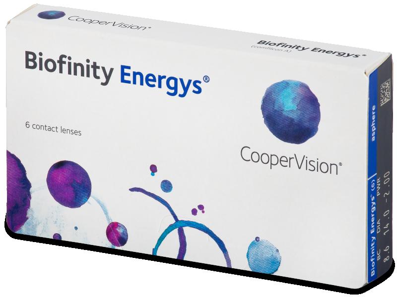 Biofinity Energys (6 leća) - Contact lenses