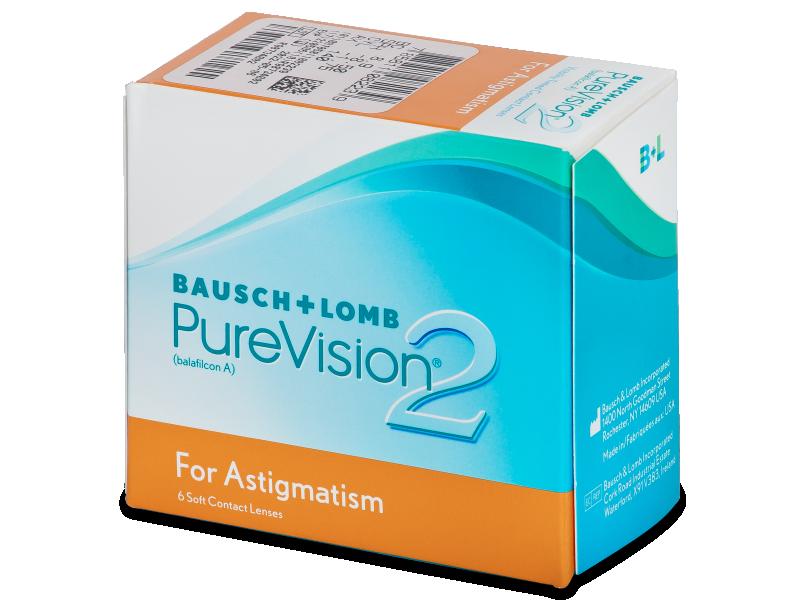 PureVision 2 for Astigmatism (6komleća) - Torične kontaktne leće