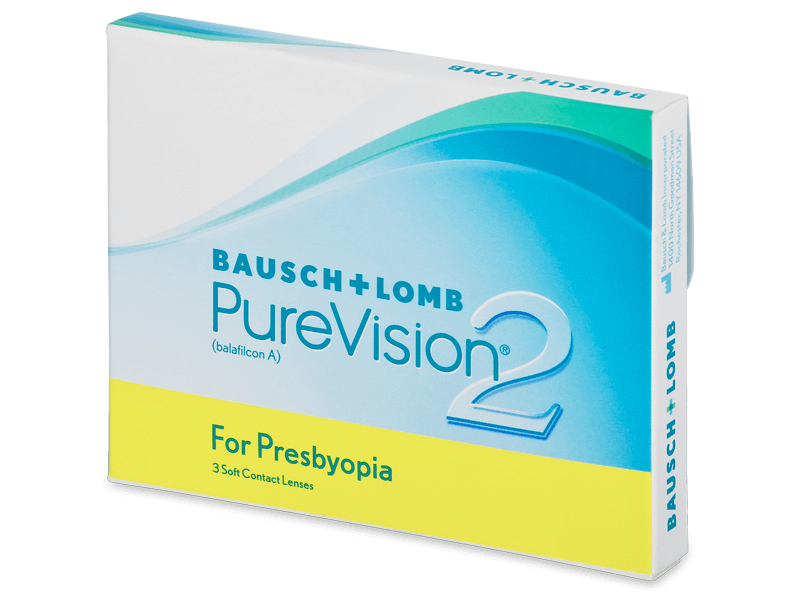 PureVision 2 for Presbyopia (3kom leća) - Multifokalne kontaktne leće
