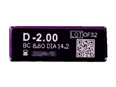 TopVue Elite+ (10 kom leća) - Pregled parametara leća