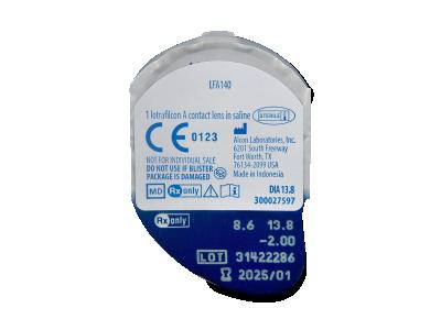 Air Optix EX (3 kom leća) - Pregled blister pakiranja