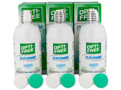Otopina Opti-Free PureMoist 3x300ml