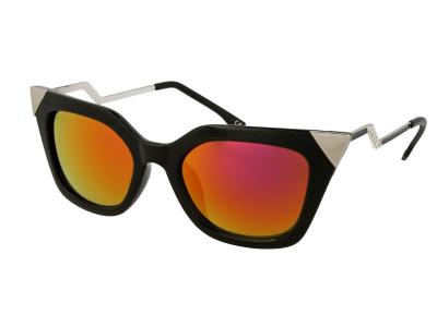 Sunčane naočale Alensa Cat Eye Shiny Black Mirror