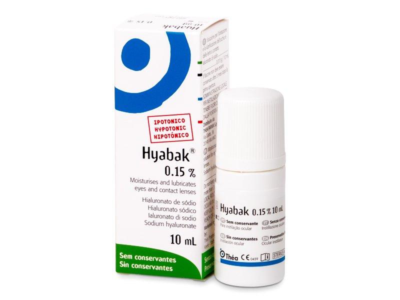 Kapi za oči Hyabak 10 ml  - Kapi za oči