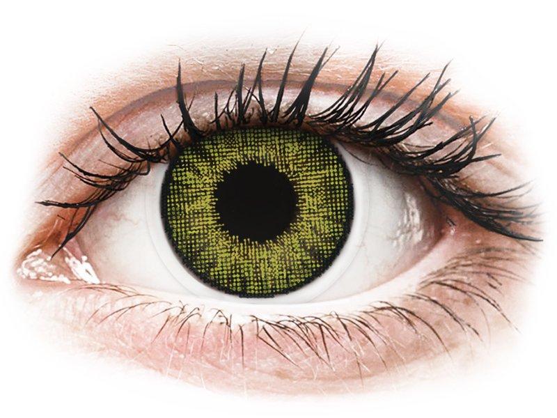 Air Optix Colors - Gemstone Green - bez dioptrije (2 kom leća)