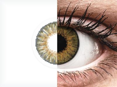 Air Optix Colors - Pure Hazel - bez dioptrije (2 kom leća)