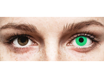 ColourVUE Crazy Lens - Emerald (Green) - bez dioptrije (2 kom leća)