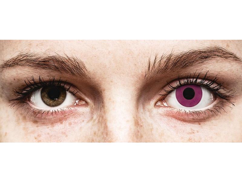 ColourVUE Crazy Lens - Purple - bez dioptrije (2 kom leća)