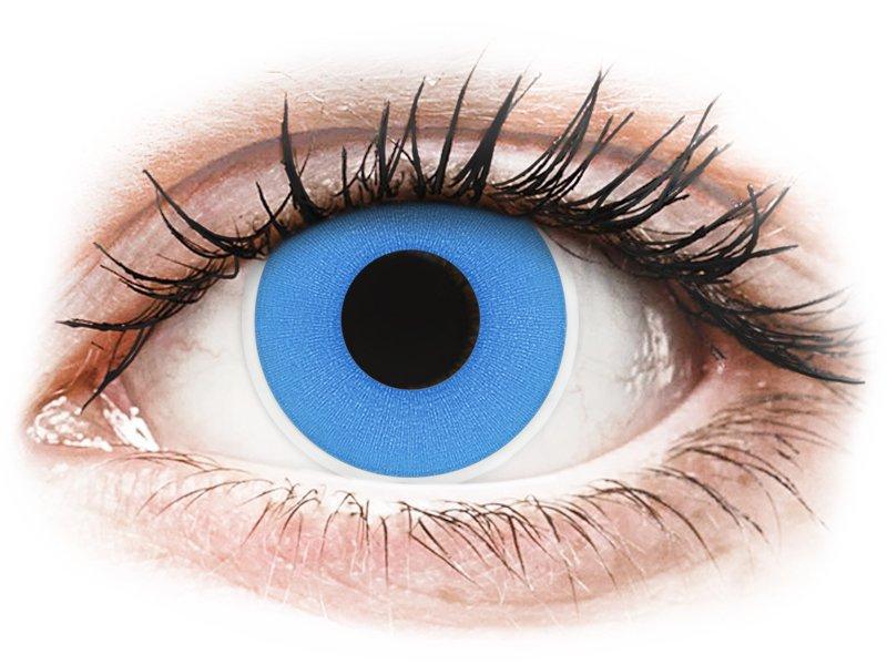 ColourVUE Crazy Lens - Sky Blue - bez dioptrije (2 kom leća)