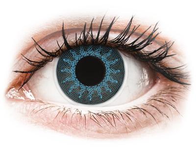 ColourVUE Crazy Lens - Solar Blue - bez dioptrije (2 kom leća)