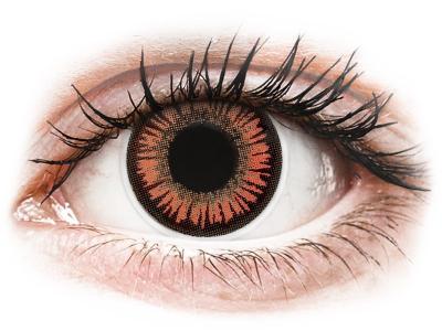 ColourVUE Crazy Lens - Vampire - bez dioptrije (2 kom leća)