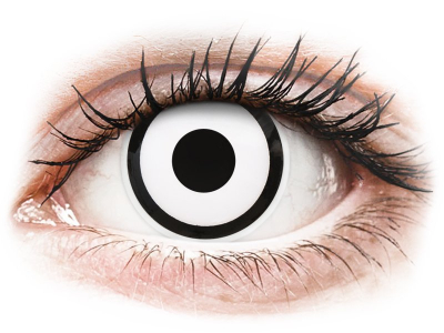 ColourVUE Crazy Lens - White Zombie - dioptrijske (2 kom leća)