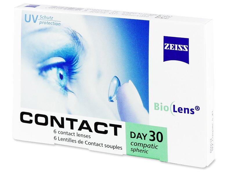 Carl Zeiss Contact Day 30 Compatic (6komleća) - Mjesečne kontaktne leće