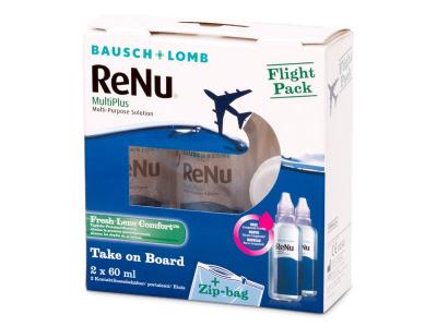 ReNu Multiplus flight pack 2 x 60 ml  - Stariji dizajn