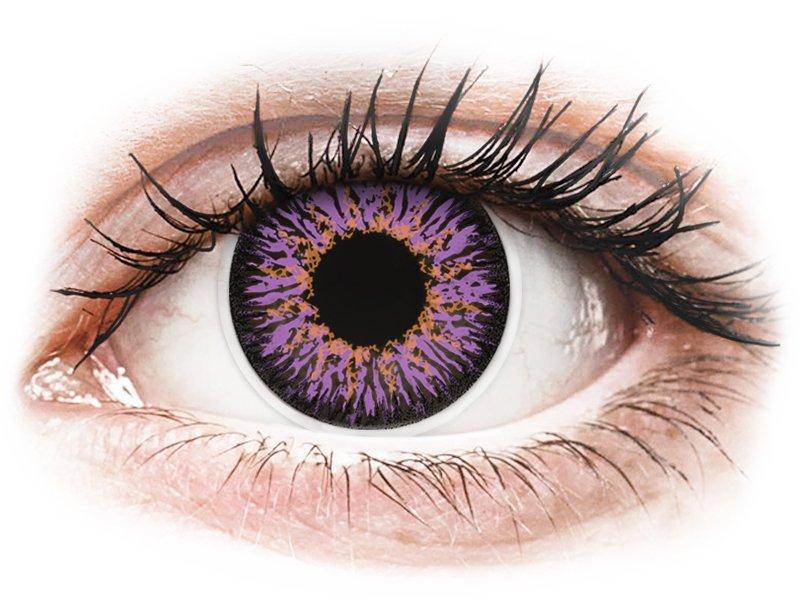 ColourVUE Glamour Violet - bez dioptrije (2kom leća)
