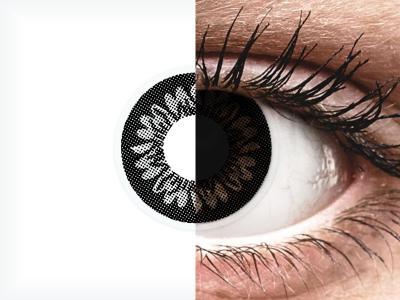 ColourVUE BigEyes Dolly Black - bez dioptrije (2kom leća)
