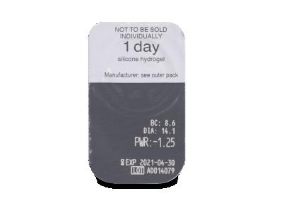 Clariti 1 day (90 kom leća) - Pregled blister pakiranja