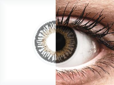 ColourVUE 3 Tones Grey - bez dioptrije (2kom leća)