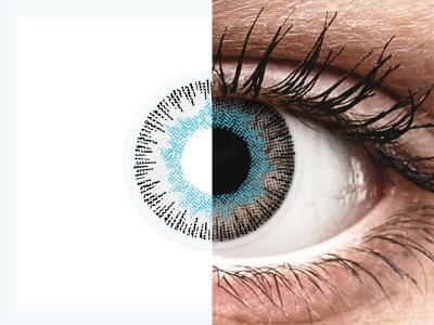 ColourVUE Fusion Blue Gray - bez dioptrije (2kom leća)