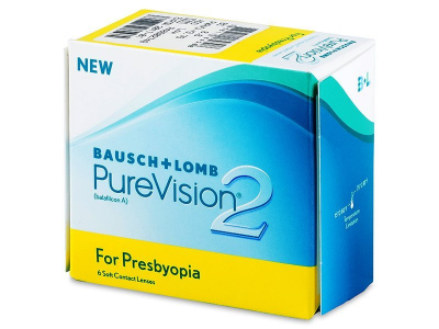 PureVision 2 for Presbyopia (6 kom leća) - Stariji dizajn