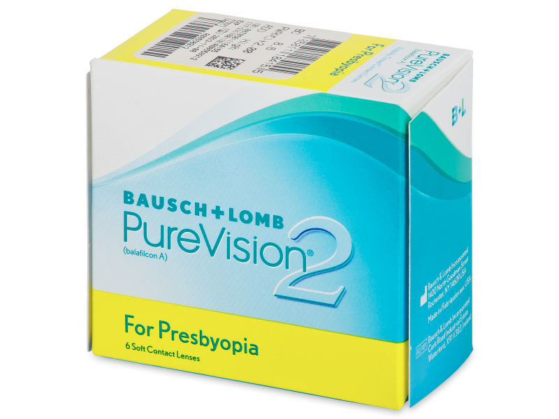 PureVision 2 for Presbyopia (6 kom leća) - Multifokalne kontaktne leće