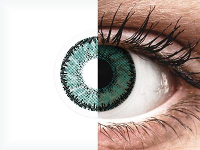SofLens Natural Colors Jade - nedioptrijske (2 kom leća)