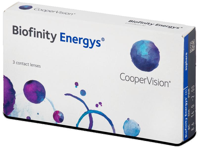 Biofinity Energys (3 leće) - Mjesečne kontaktne leće
