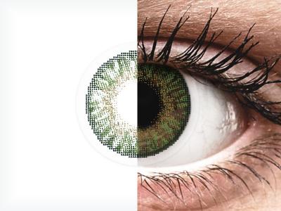 FreshLook ColorBlends Gemstone Green - nedioptrijske (2 kom leća)