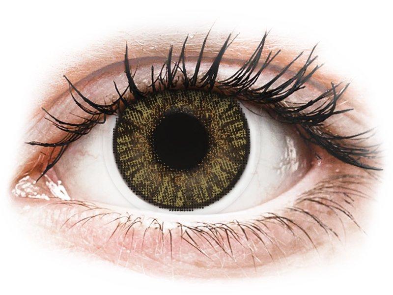 FreshLook ColorBlends Pure Hazel - nedioptrijske (2 kom leća)