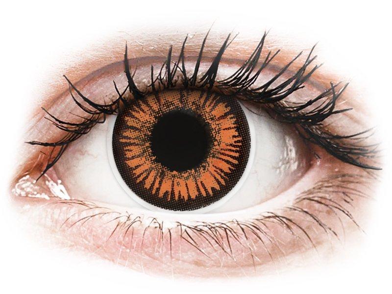 ColourVUE Crazy - Twilight - jednodnevne leće bez dioptrije (2 kom leća)