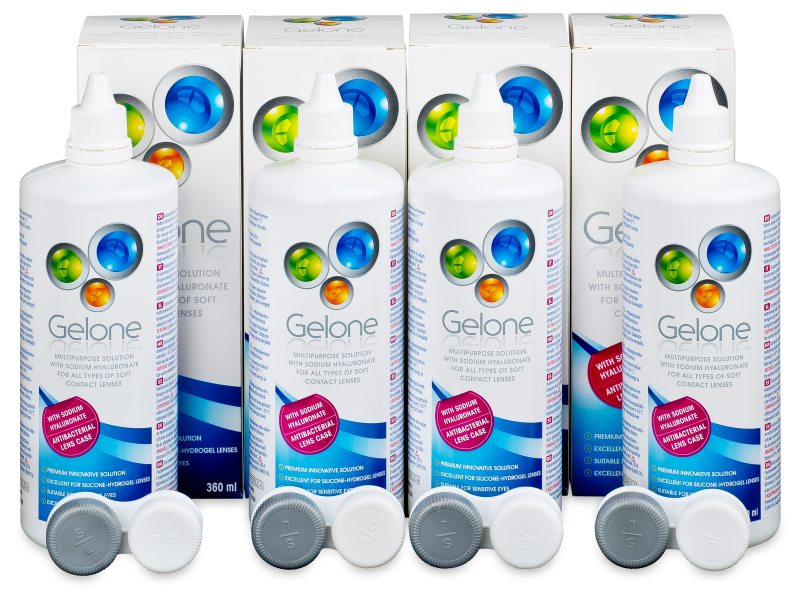 Otopina Gelone 4 x 360 ml  - Economy 4-pack - solution
