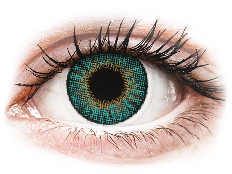 Air Optix Colors - Turquoise - dioptrijske (2kom leća) - Kontaktne leće u boji