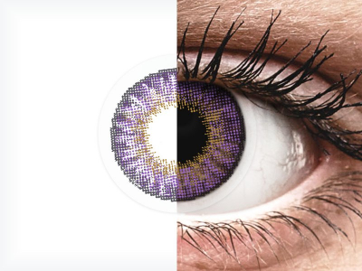 Air Optix Colors - Amethyst - dioptrijske (2kom leća)