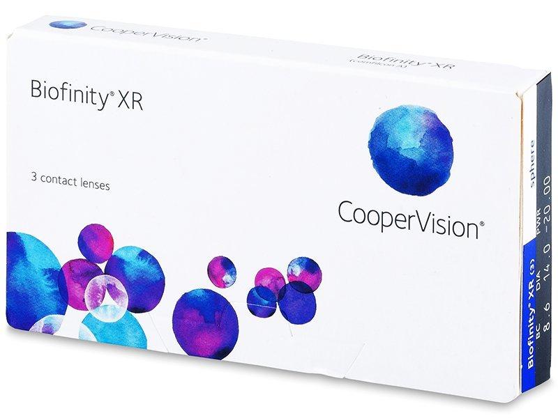 Biofinity XR (3kom leća) - Mjesečne kontaktne leće
