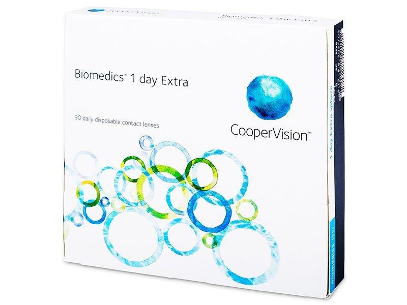 Biomedics 1 Day Extra (90komleća) - Jednodnevne kontaktne leće