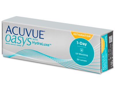 Acuvue Oasys 1-Day with HydraLuxe for Astigmatism (30 leća)