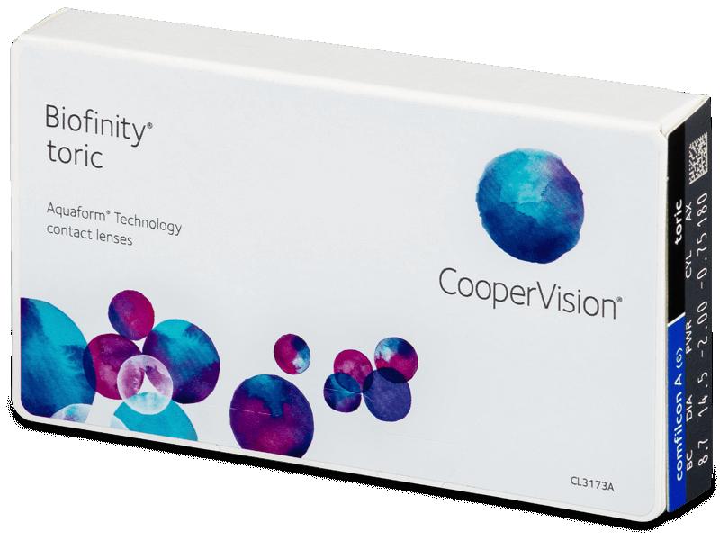 Biofinity Toric (6komleća) - Torične kontaktne leće