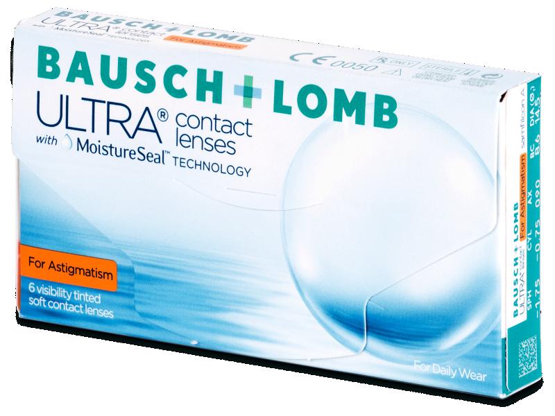 Bausch + Lomb ULTRA for Astigmatism (6 kom leća) - Torične kontaktne leće