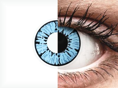 ColourVUE Crazy Lens - Blizzard - bez dioptrije (2 kom leća)