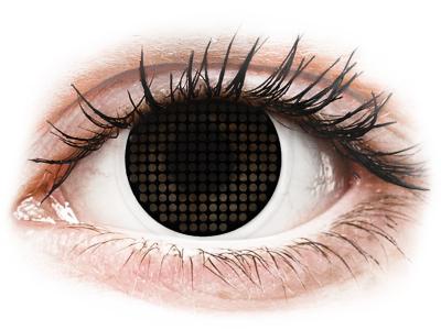 ColourVUE Crazy Lens - Black Screen - bez dioptrije (2 kom leća)