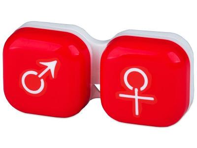 Kutija man&woman - red