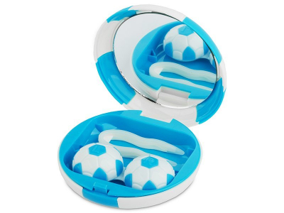 Kutija s ogledalom Football - blue