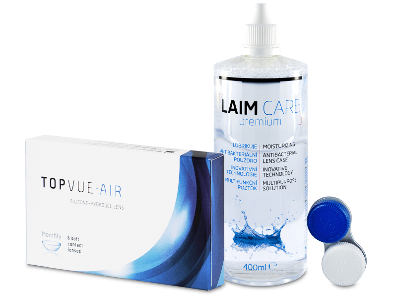 TopVue Air (6 kom leća) + Laim-Care 400 ml - Ponuda paketa