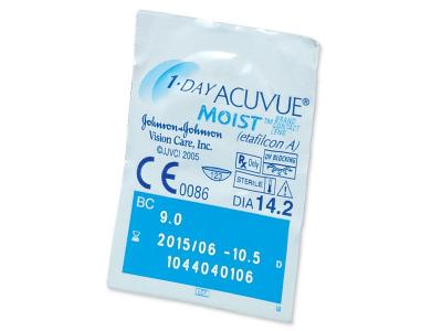 1 Day Acuvue Moist (180 leća) - Pregled blister pakiranja