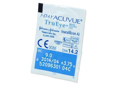 1 Day Acuvue TruEye (180komleća) - Pregled blister pakiranja