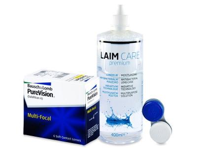 PureVision Multi-Focal (6 kom leća) + Laim-Care 400 ml
