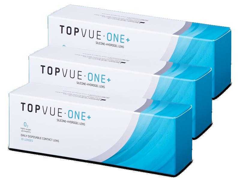 TopVue One+ (90 kom leća) - Jednodnevne kontaktne leće