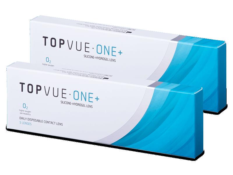 Kontaktne leće TopVue One+ (5 parova leća) - Jednodnevne kontaktne leće