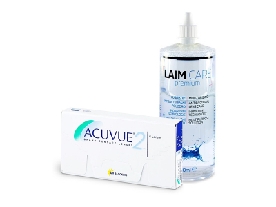 Acuvue 2 (6 kom leća) + Laim-Care 400 ml